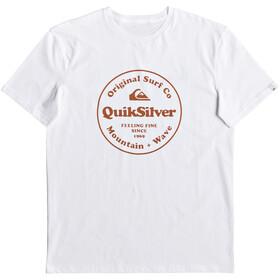 Quiksilver Secret Ingredient Camiseta Manga Corta Hombre, white
